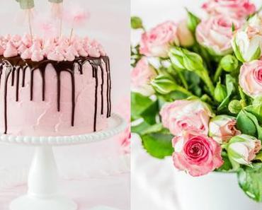 Rosa Geburtstagstörtchen