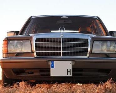 Mercedes 300 SDL Turbodiesel Versuchsträger aus 1981
