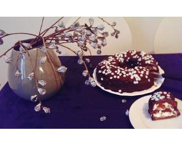 Winterkuchen mit Cremefüllung