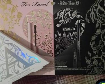 [Haul] Too Faced x Kat Von D Better Together Ultimate Eye Collection & Kat Von D Alchemist Holographic Palette