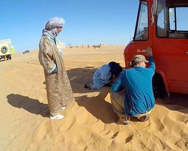 Merzouga – endlich Sand unter den Reifen … äh Füßen