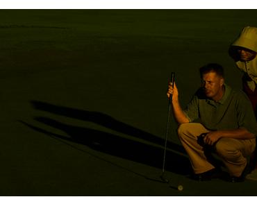Profis und ihre Golfschläger