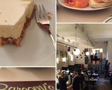 #Sonntagsglück am Samstag – oder – Der NY-Cheesecake à la Barcomi