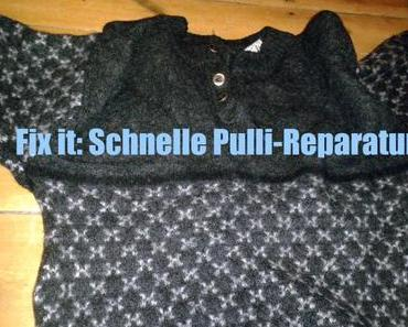 Fix it: Schnelle Pulli-Reparatur