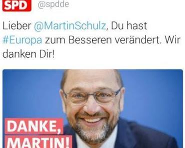 Der Sudel-Ede-Gedächtnispreis geht heute an: Die Jubelperser vom SPD-Parteivorstand