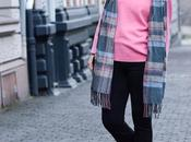 Outfit: Barbie pink shirt with trumpet sleeves flared pants from Zara