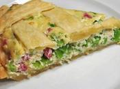 Crostata Saubohnen Ricotta