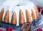 Himbeer-Buttermilch-Passionsfrucht Kuchen