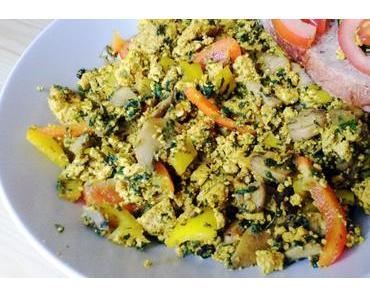 Vegan Breakfast: Tofu-Scramble