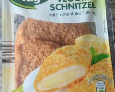 Veggie Schnitzel mit Emmentaler Füllung