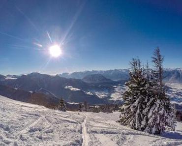 Schlenken: Anfänger-Skitour in Stadtnähe