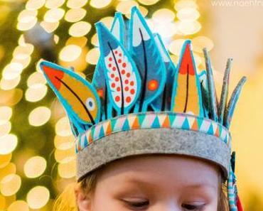Indianerkostüm nähen und Kostüm Polonäse Linkparty