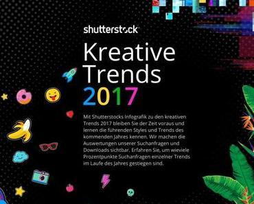 Shutterstocks Creative Trends Report definiert die visuellen Design Trends für 2017