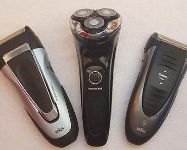 3 Rasierer im Test
