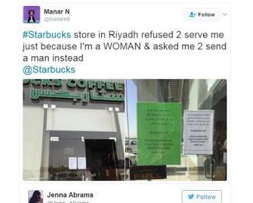 Starbucks-Skandal: Frauen werden nicht bedient