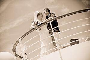 Heiraten auf dem Kreuzfahrtschiff