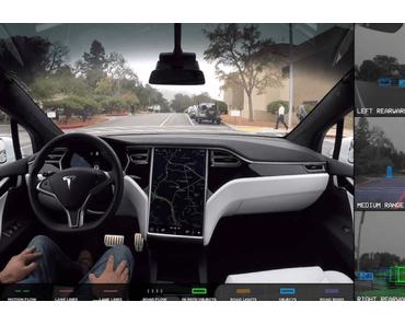Tesla testet autonome Autos und Waymo fährt davon