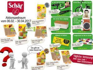 Glutenfreie Brote und Brötchen von Dr. Schär – Großes Gewinnspiel – Tipp für Valentinsfrühstück