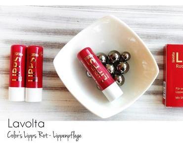 Lavolta - Color Lipps Rot Trio - Sheabutter Lippenpflege