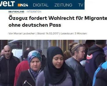 Staatsministerin Özoguz fordert Wahlrecht für Ausländer ohne deutschen Pass