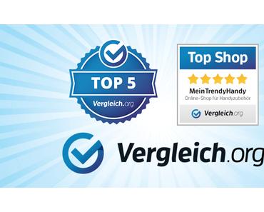 Top Shop für Handyzubehör: Vergleich.org wählt uns