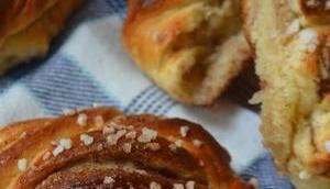 Kanelbullar Schwedische Zimtbrötchen/ Swedish Cinnamon Buns