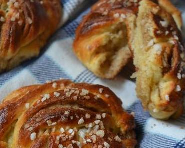 Kanelbullar - Schwedische Zimtbrötchen/ Swedish Cinnamon Buns