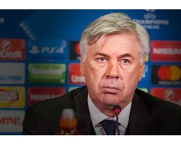 Carlo Ancelotti: Personaler auf der Trainerbank