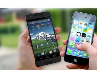 Die Vor- und Nachteile von Android und iOS
