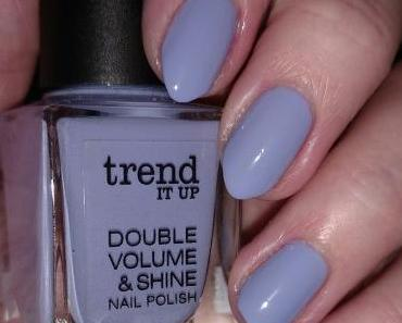 [Nails] Lacke in Farbe ... und bunt!  FLIEDER mit trend IT UP DOUBLE VOLUME & SHINE 400