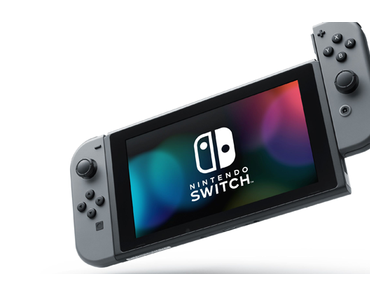 Sam packt aus: Die neue Nintendo Switch Konsole in Grau