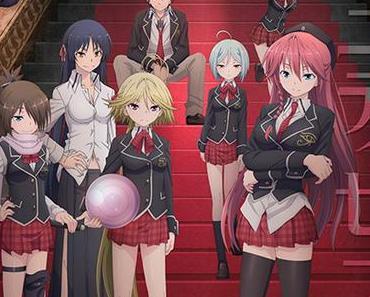 Anime Review: Trinity Seven Volume 1 von Fuma