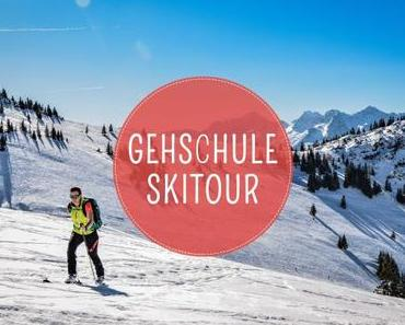 Skitour: Die richtige Gehtechnik