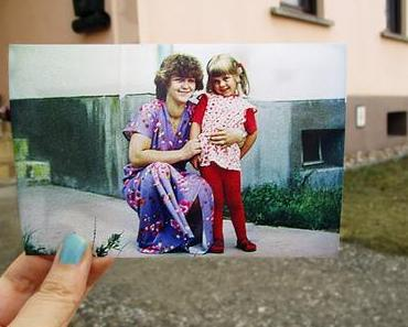 """Blogparade """"Eine Zeitreise in die Vergangenheit - Kindheitsfotos in der Gegenwart"""""""