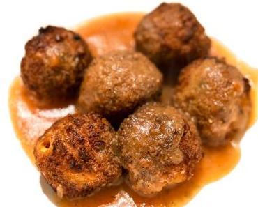 Tag der Fleischbällchen in den USA – der amerikanische National Meatball Day