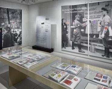 """Neue Sonderausstellung im NS-Dokuzentrum: """"Angezettelt. Antisemitische und rassistische Aufkleber von 1880 bis heute"""""""