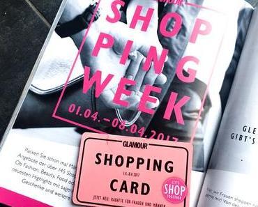 GLAMOUR Shopping Week April 2017 | Übersicht