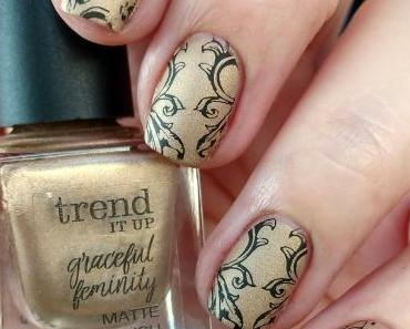 [Nails] NailArt-Dienstag: Elegant mit trend IT UP graceful feminity MATTE NAIL POLISH 020