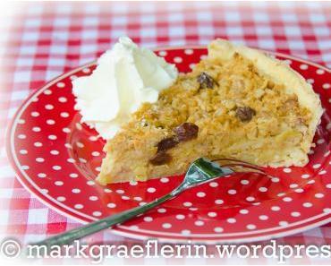 Pie-Day: Kleiner Müsli Apfelkuchen