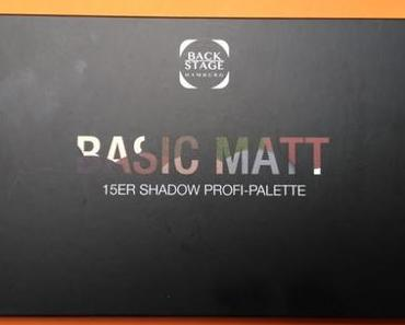 BACKSTAGE Profi Make up Basic Matt Palette
