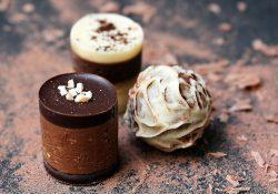 Edel-Schokolade zum Dahinschmelzen