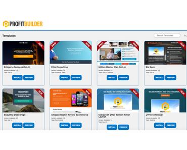 ProfitBuilder 2 – Das Landingpage Plugin für WordPress
