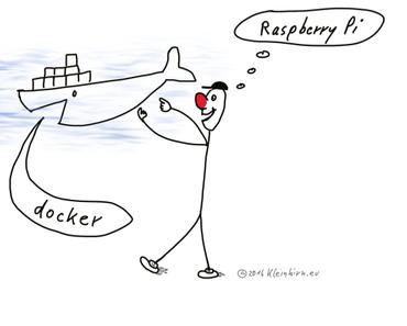 Raspberry Pi Zero W: Debian Docker mit Alpinelinux installieren in 30 Minuten