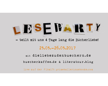 #Leseparty - die Buchmesse-Alternative