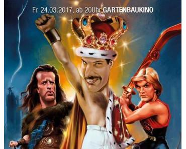 Strahler 80 Double-Feature: Flash Gordon und Highlander im Gartenbaukino