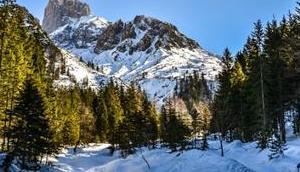 Stuhllochscharte: Skitour Schatten Bischofsmütze