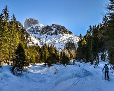 Stuhllochscharte: Skitour im Schatten der Bischofsmütze