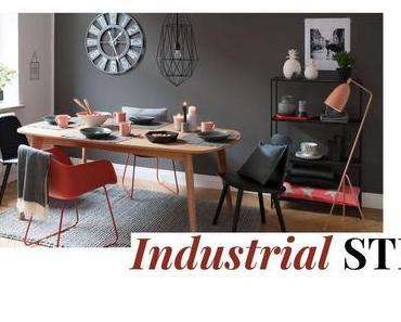 Industrial Stil: So setzt ihr mit Metall Akzente im Wohnzimmer