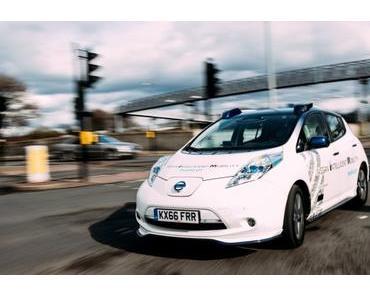 Renault und Nissan arbeiten mit dem Transdev-Konzern an autonomen Autos