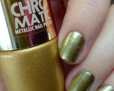 [Nails] Rival de Loop YOUNG CHROMATIC METALLIC NAIL POLISH 01 GOLD